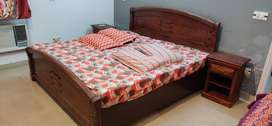 Pure wood king size bed