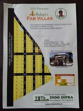 2 Minutes distance to Residential Houses & Villas.