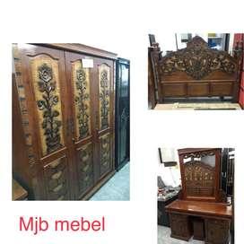 Mjb mebel - promo set hantaran kayu ukir berkualitas