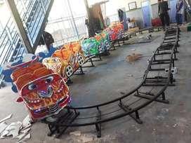 wahana pasar malam usaha mainan mini coaster seru