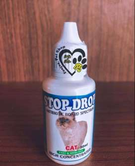 Stop Drop Antibiotic Kucing