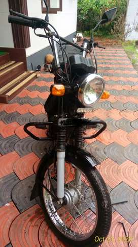 Good condition bike with brand new tyres.