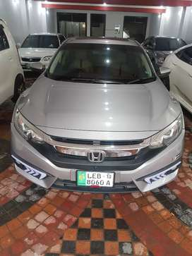 Honda Civic 21 paid 60000 installmint per month Bank Leased
