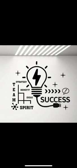 Office Furniture and Wall Decor to decorate your office with Stickers