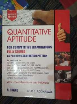 Rs aggarwal aptitude maths for all exam