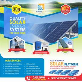 Install Solar system and let sun pay your bills