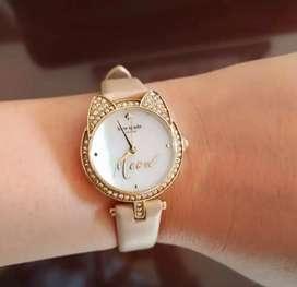 Kate Spade's watch meow