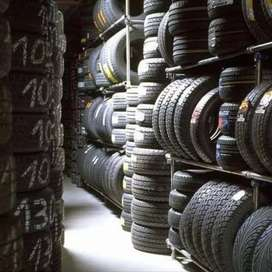 ( 20% Used Tubeless Car And Bike Tyres Available