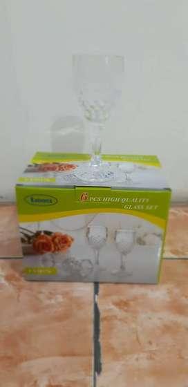 Set Gelas Lionex 6 buah