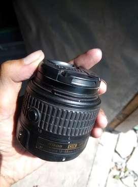 Lensa Nikon 18-55 AFS VR