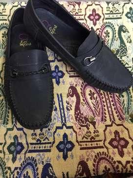 Black loffer shoes stylish size 4