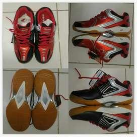 New sepatu astec hiqua size 37 36 35 anak juniorbadminton by ahadin