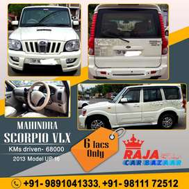 Mahindra Scorpio VLX 2WD ABS Automatic BS-III, 2013, Diesel