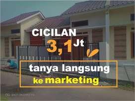 Dijual Rumah baru SHM,IMB  5 Menit Ke KRL Citayam Modal 5 Jt All In