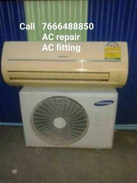 AC fitting AC repair AC service fridge repair home service