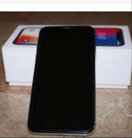 Iphone x 64gb black color with box and all accessories