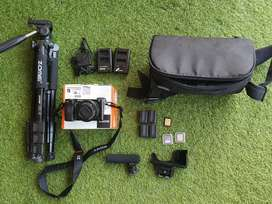 Barter Sony A6000 Fullset dengan DJI Drone Mini 2 Combo