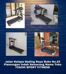 Jual Alat Fitness Treadmill Sepeda Statis Home Gym ( ITACHI HOSHI )