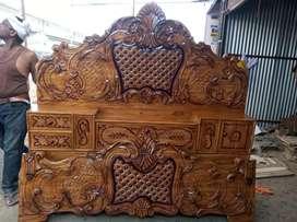 Take wood box bed