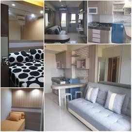 Ready Apartemen Puncak Kertajaya 2br New Gress