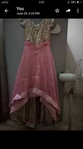 Party wear dress frocks maxi and lengha