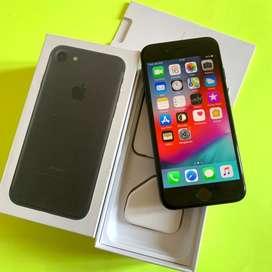 Iphone 7 32gb Blackmatte Ex International Ori Fullset Mulus