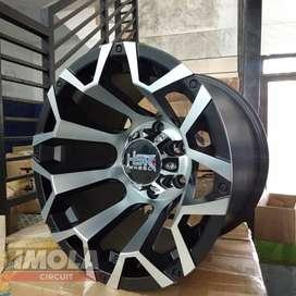 Velg mobil racing murah ring 15 HSR wheel pelg offroad Hardtop Gresik