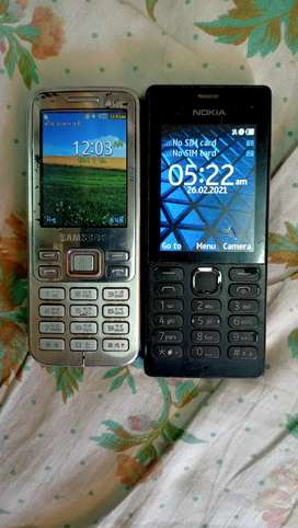 Samsung Double sim & Nokia