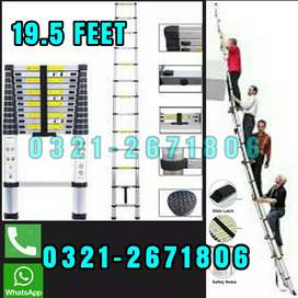 BUNGLOW OUTSOOR LADDER 19.5 FEET   HEAVY MATERIAL