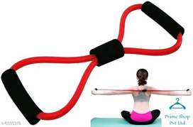 Fitness tube rope