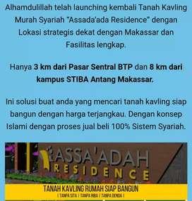 Dijual Kavling Syariah Assa'adah Residence, Dkt BPT & Antang Makassar