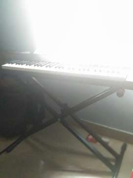 Casio Keyboard with Dual braced stand