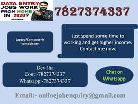 Some DEO for outsourcing company data typing. We are hiring now. You c