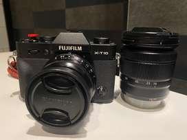 Fujifilm XT 10 Full Set Lenda Kit + Lensa XF35mm F2 R WR