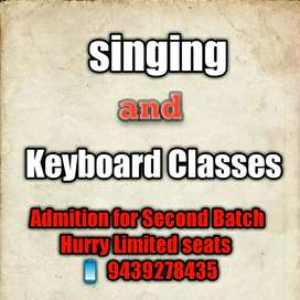Learn singing and keyboard playing.