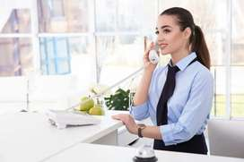Receptionist and Tele-caller for Coaching Classes