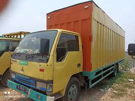 JUAL CEPAT MITSUBISHI FUSO 120PS box long panjang 6 meter