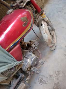 Honda Bike CD 70 (1991 Model)Multan Number For Sale