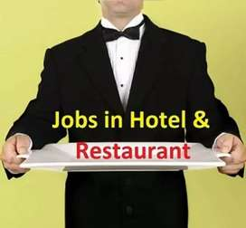 International hotel staff required