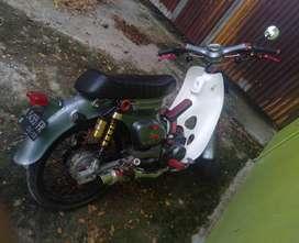 Honda Cup 70 Modif