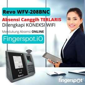 Absensi Terlaris Canggih Koneksi WiFi Revo WFV 208BNC