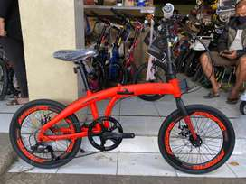 PROMO Sepeda Lipat Folding 20 Pacific 2980 RX 6.8 Bike to Work BDG