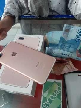 jual iphone 7+128 mulus bisa tt ibox