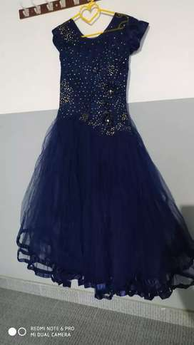 Bridal Gown _ Navy blue colour XL size