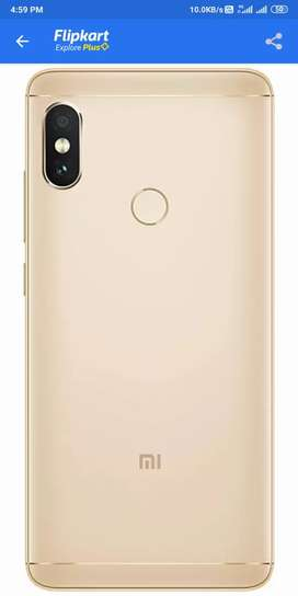 Mi note5 pro ram4 gb rom64 gb good condition only mobile and charger