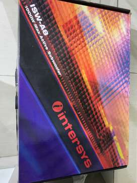 Dijual Subwoofer intersys ISW A8