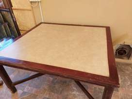 Wood Table Tennis Table made of Solid Wood