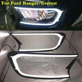 Ford endeavour Headlights DRL Imported