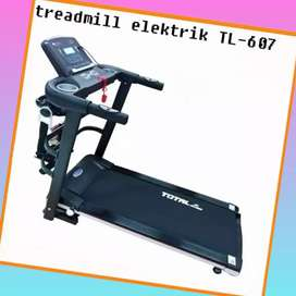 treadmill elektrik TL-607 electric total fitnes R-936 II sepeda statis