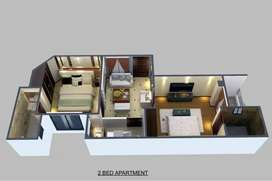 575 Sq Ft Flat, 2 Bedrooms 3rd Floor, MountDale Tower Islamabad